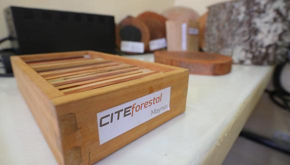 De enero a agosto el CITEforestal Maynas, ha brindado 1,611 servicios tecnológicos. (Foto: Produce)