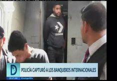 Callao: efectivos policiales atrapan a delincuentes internacionales