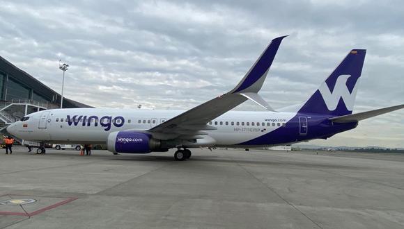 La referida nueva ruta para la compañía operará inicialmente dos veces a la semana a partir del 28 de junio. (Foto: Wingo)