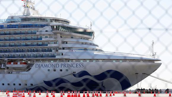 El crucero Diamond Princess está en cuarentena en Japón por el coronavirus desde hace más de dos semanas. (REUTERS/Issei Kato/File Photo).