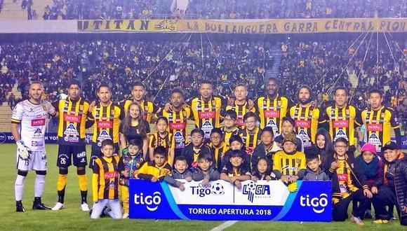 The Strongest dio el primer paso para coronarse campeón en Bolivia, luego de imponerse de local ante Jorge Wilstermann con goles de Ballivian y Martelli. (Foto: The Strongest)