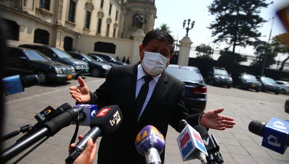 Ayala explicó que el protocolo de entrega del cadáver de un interno es responsabilidad del Ministerio de Justicia y del INPE.   Foto archivo GEC