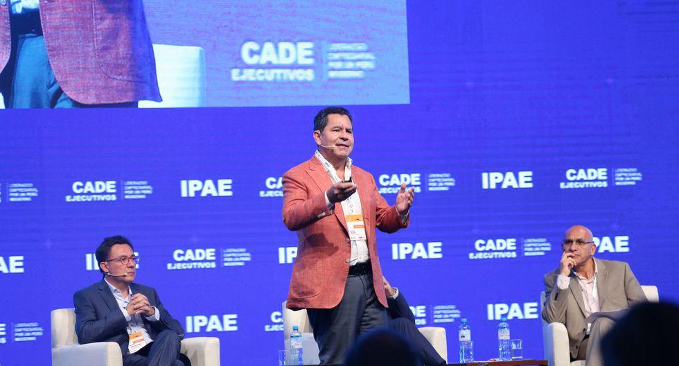Carlos Añaños, Presidente del Patronato Pikimachay en CADE 2018. (Foto: IPAE)