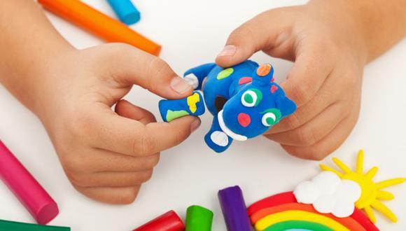 La plastilina tiene muchos beneficios para los niños (Foto: Pixabay)