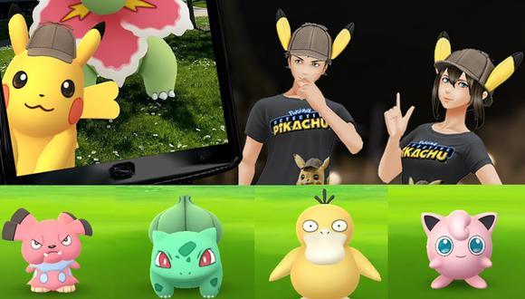Pokémon Go contará con un evento por el estreno mundial de Pokémon Detective Pikachu. (Captura de pantalla)