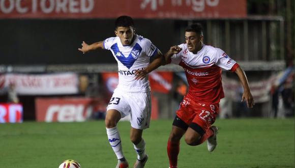 Vélez igualó sin goles en su visita a Argentinos Juniors por la Superliga Argentina.   Foto: Velez
