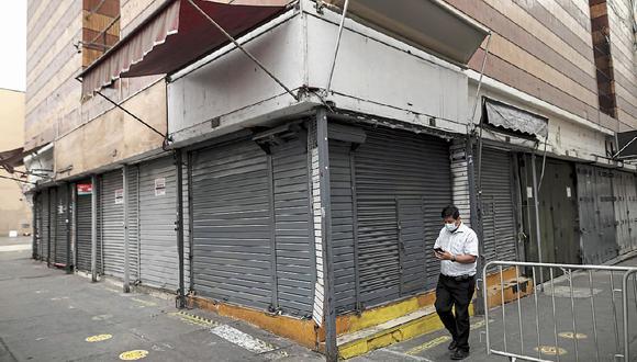 Entre los sectores más 'golpeados' están los restaurantes, tiendas, centro de entretenimientos, gimnasios, entre otros. (Foto: GEC)