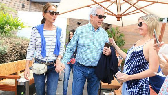 PPK recibió en su casa al escritor Mario Vargas Llosa