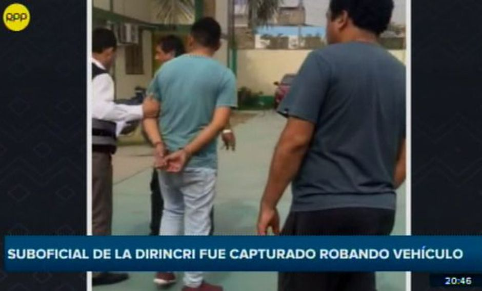 En el informe periodístico se señala que el agente policial trabaja en la División de Investigación de Secuestros de la Policía. (RPP Televisión)