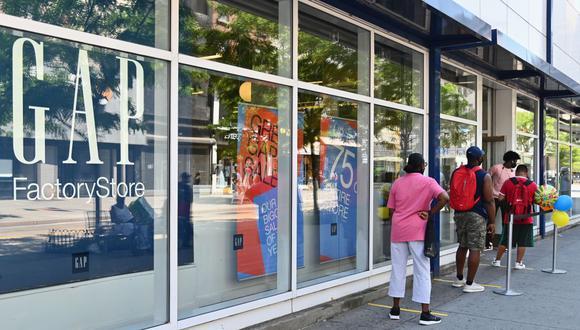De febrero a agosto, Gap cerró 11 tiendas en Europa, 66 en Norteamérica y 10 en Asia. (Foto: AFP)