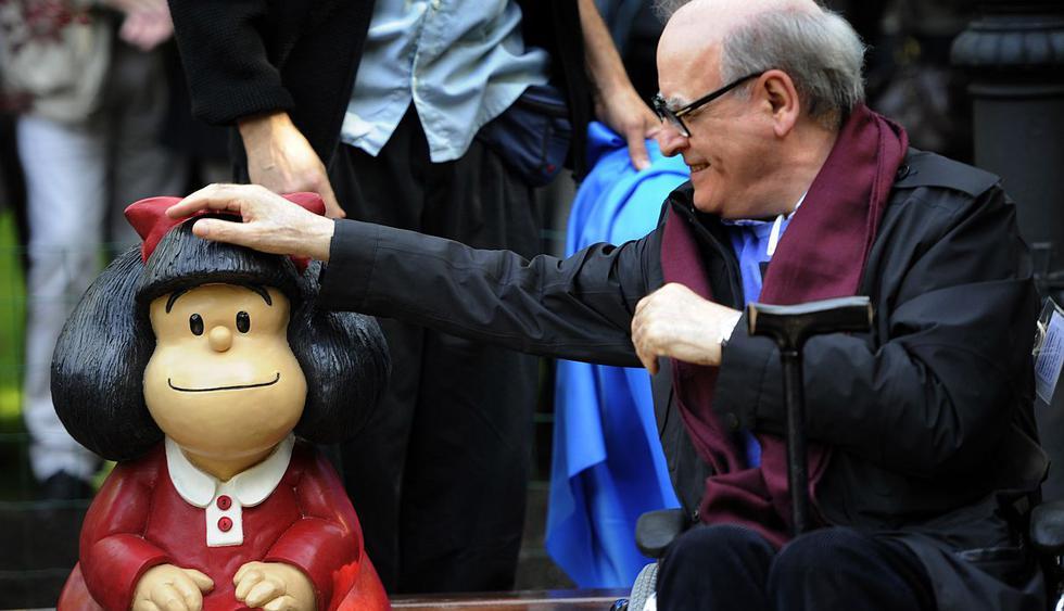 Amante de la democracia y enemiga de la sopa, Mafalda se ha posicionado como uno de los personajes más queridos de América Latina. (Foto: AFP)