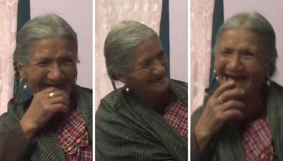 La anciana comenzó a reír al ver que Alexa cumplía su petición. (Foto: @giulianigi | TikTok)