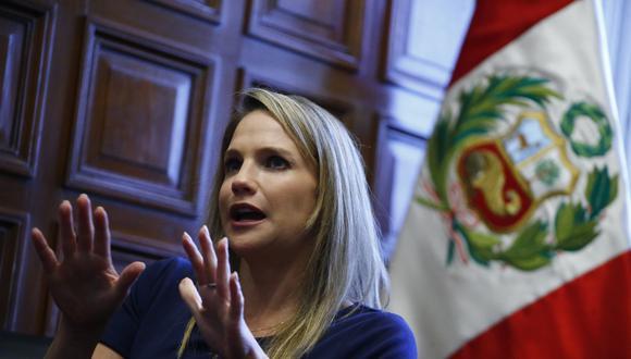 La congresista Luciana León ha sido designada como vocera de su bancada para esta legislatura. [Foto archivo El Comercio]