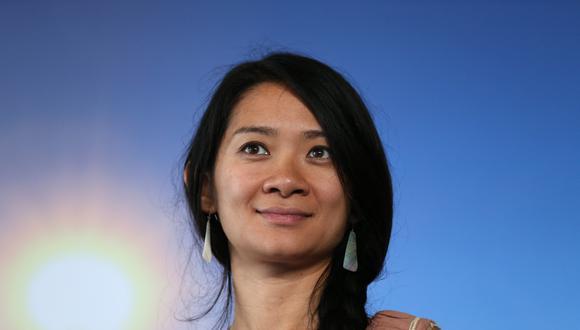 """La directora Chloe Zhao durante la presentación de la película """"Songs My Brothers Taught Me"""" en 2015. Ella ha sido nominada a los Golden Globes por """"Nomadland"""". Foto: CHARLY TRIBALLEAU / AFP."""