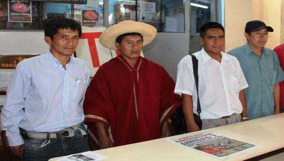 Comuneros de Cañaris reafirman su oposición al proyecto de la minera Candente Copper. (Foto: Wilfredo Sandoval)