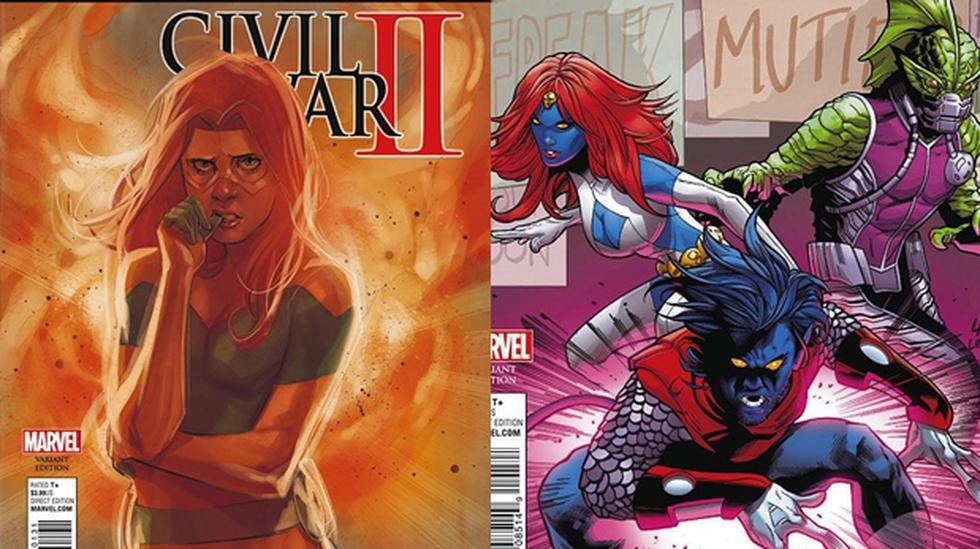 """""""Civil War II"""": Magneto le declara guerra a los inhumanos - 1"""