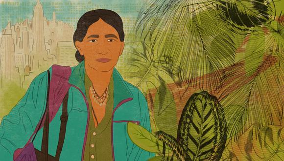 la ilustración fue elaborada por la artista visual Marlene Solorio, pueden conocer aquí su trabajo.