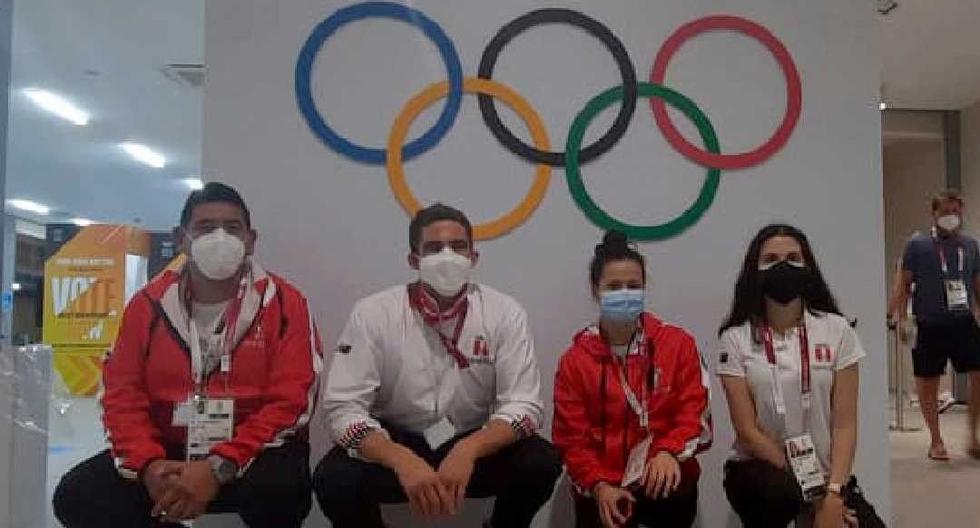 Carrillo y Pacheco en tiro, Orrego en gimnasia y Macías en bádminton, algunos de nuestros representantes en Tokio. (Foto: COP)