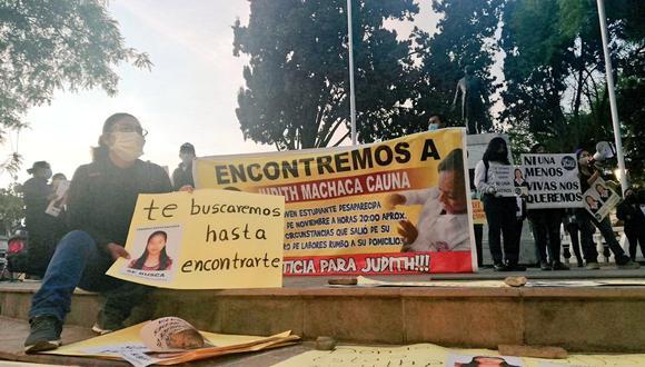La familia de Judith, de 20 años, no dejó de buscarla ni un solo día, pese a la cuarentena por el COVID-19. (Foto: @SilviaBardalesQ)