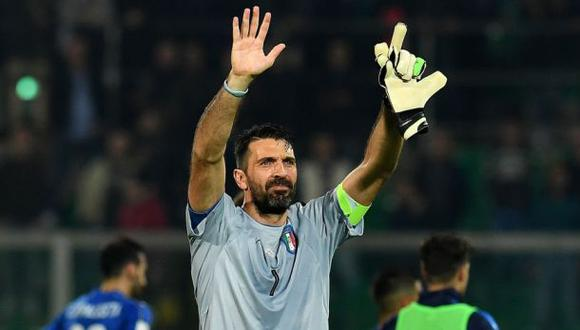 Gianluigi Buffon cumplió mil partidos como jugador profesional