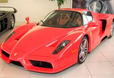 Ferrari Enzo de Michael Schumacher sale a la venta