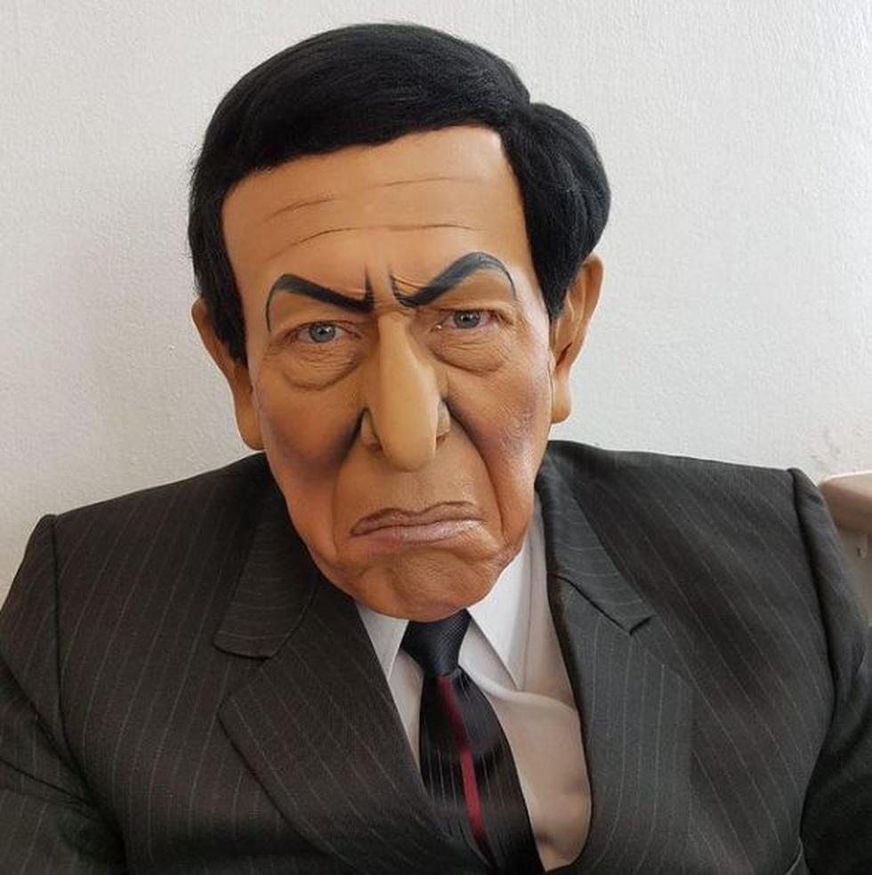 'Yuca' imitando al expresidente Martín Vizcarra. (Foto: Instagram oficial de Enrique Espejo)