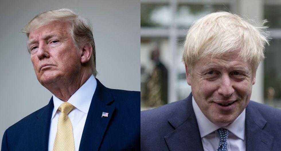 Boris Johnson y Donald Trump acordaron charlar de nuevo en la cumbre del G7 en Biarritz (Francia) a finales de agosto. (Foto: AFP)