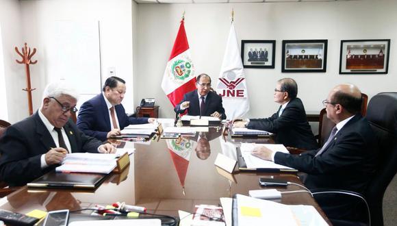 El JNE atenderá el pedido de un jurado electoral especial sobre la candidatura de excongresistas para el 2020. (Foto: JNE)