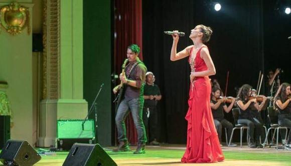 Cristina Benavides en el Gran Teatro Nacional