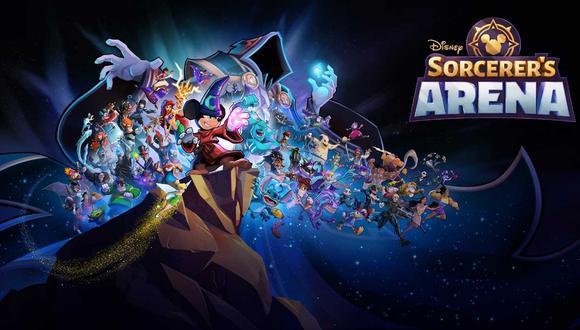 Disney Sorcerer's Arena. (Difusión)