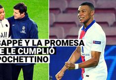 Kylian Mbappé y la promesa que le cumplió a Mauricio Pochettino en el Camp Nou