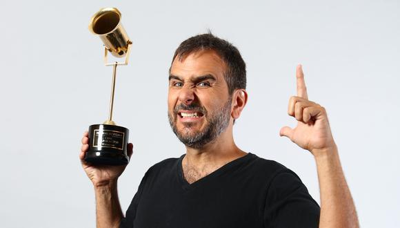 """Giovanni Ciccia fue elegido por nuestros lectores como mejor actor por el filme """"Django: en el nombre del hijo"""". Su nuevo proyecto fílmico aborda una comedia de temática inclusiva.  FOTO: ALESSANDRO CURRARINO/EL COMERCIO"""