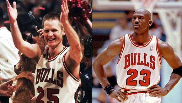 Steve Kerr y Michael Jordan no fueron tan amigos desde el inicio en los Chicago Bulls.