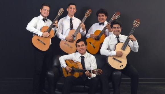 Veritas Guitar Quintet, agrupación invitada para representar a las cuerdas locales.