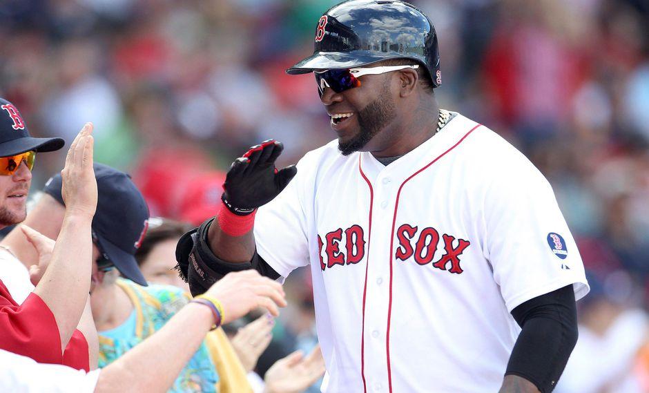 El bateador de los Medias Rojas de Boston, David Ortiz,en una imagen del 22 de setiembre del 2013. (REUTERS).