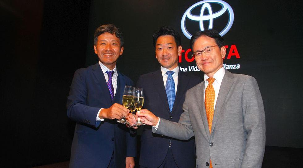 Misahiro Inoue, Daisuke Hori y Toshiro Hayashi.