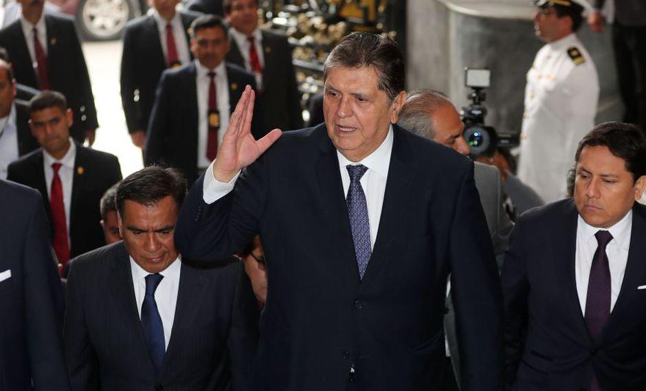 Poder Judicial confirma improcedencia de pedido para incautar celulares de Alan García (Foto: GEC)