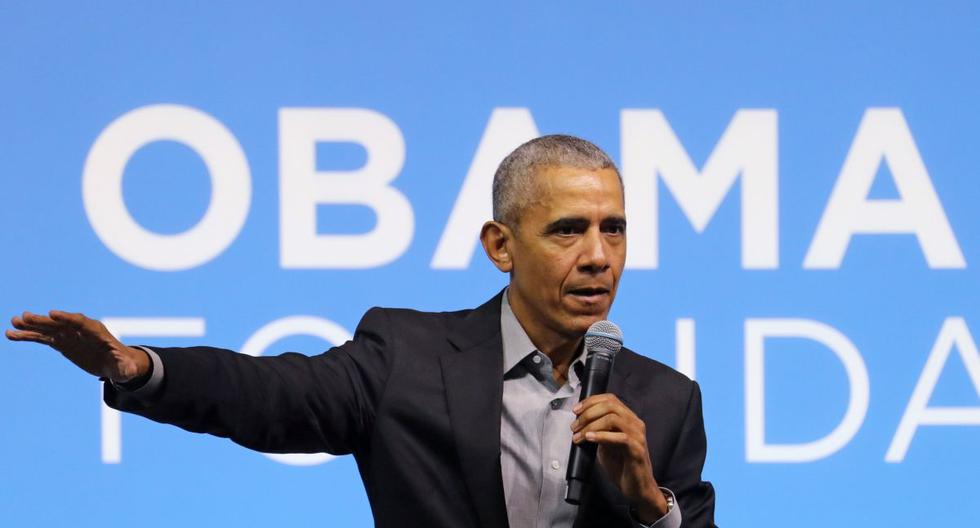 El expresidente de Estados Unidos, Barack Obama, habla durante un evento de la Fundación Obama en Kuala Lumpur, Malasia, 13 de diciembre de 2019. (REUTERS / Lim Huey Teng).