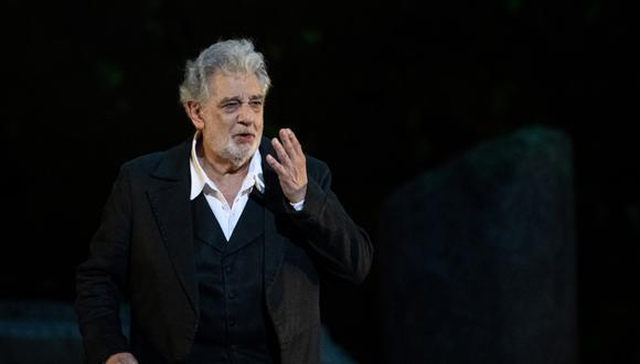 """El cantante de ópera Plácido Domingo ha sido acusado por varias mujeres de acoso sexual. """"Un secreto a voces"""" en el mundo de la ópera, informó Associated Press. (Foto: AFP)"""