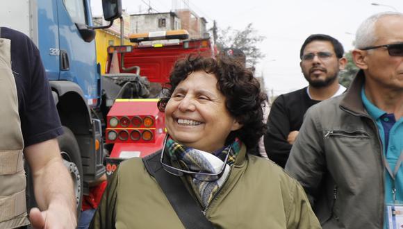 Susel Paredes pasará a la comuna de Magdalena. (Foto: GEC)