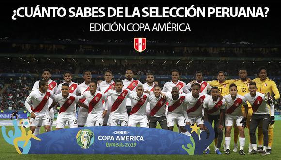 La Selección Peruana se jugará la final de la Copa América 2019 ante su similar de Brasil este domingo 7 de julio a las 15:00 horas en Río de Janeiro. | Getty