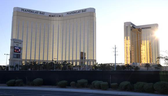 El grupo hotelero Mandalay Bay indemnizará a las víctimas del tiroteo en Las Vegas.(AFP / GETTY IMAGES NORTH AMERICA / Ethan Miller).