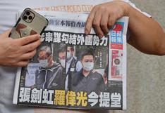 Hong Kong: el periódico prodemocrático Apple Daily decidirá el viernes si cierra
