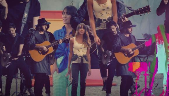 """Aitana y Morat colaboran en el nuevo tema """"Más de lo que aposté"""". (Foto: Captura de YouTube)"""