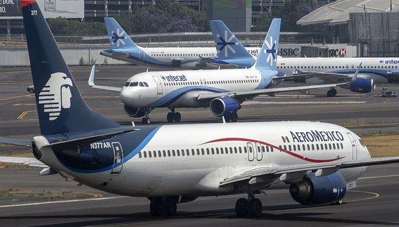 El Grupo México ha informado que en julio recuperará parte de su capacidad de vuelo, reducida drásticamente por la pandemia del COVID-19. (Foto: AFP)