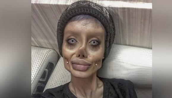 """Irán arresta mujer que personificaba a personaje de """"The Corpse Bride"""" por """"promover la violencia, blasfemia y corromper a los jóvenes"""" . (Foto: @sahartabar_official)."""