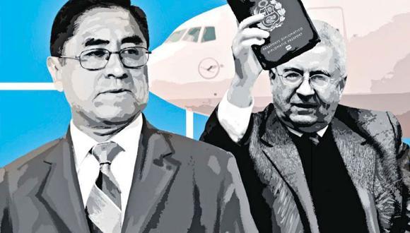 Según reveló hoy El Comercio, el diplomático César Bustamante ayudó al ex juez supremo a sacar pasaporte y visas.