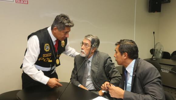 Abogado de Jorge Peñaranda mencionó, en su solicitud, el grado de vulnerabilidad de su defendido debido a su edad (77 años) y a la hipertensión arterial y coronapatía en tratamiento crónico continuo que padece. (Foto: GEC)