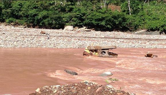 Una persona desaparece por aumento del caudal de dos ríos