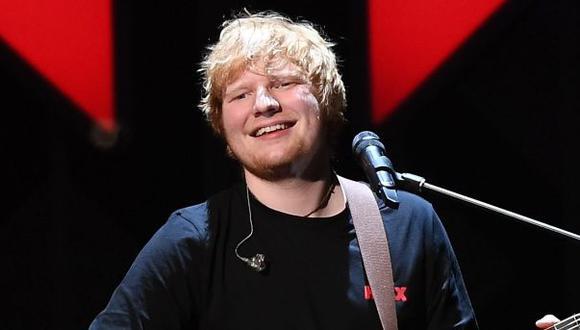 Ed Sheeran, cantante británico. (Foto: Agencia)